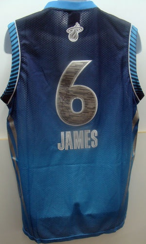Lebron James Autograph All Star Jersey East 6 Miami Heat MVP | eBay