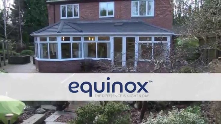 Discover the modern way to enjoy your conservatory - every day: http://www.eurocell.co.uk/homeowners/504/equinox-1.