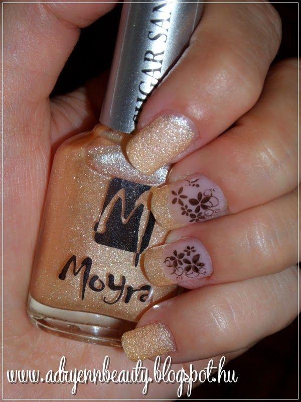 Adryenn Beauty: Moyra Sugar Sand körömlakk - Closer