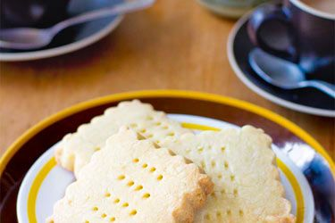 Lemon shortbread from Quince Cafe