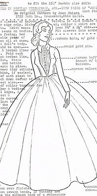 154 best Barbie sewing patterns images on Pinterest
