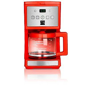 I swear by all that is holy I will not have boring appliances. Red Coffee maker.