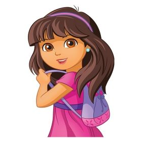 teenage dora coloring pages-#45