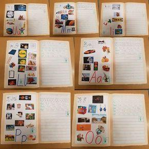 Vor einiger Zeit habe ich euch drei Seiten aus meinem Buchstabenheft gezeigt - quasi die Lehrerversion . Zu jedem eingeführten Buchstaben sollen die Kinder Zuhause mit ihren Eltern/ Geschwistern wem auch immer Bilder suchen, ausschneiden und einkleben oder auch malen, die den entsprechenden Laut als Anlaut haben. Vor den Ferien habe ich alle Buchstabenhefte eingesammelt, kontrolliert und gestempelt. ALLE Kinder hatten ihre Hausaufgabe gemacht und Bilder gesammelt bzw. gemalt. Einige ha...