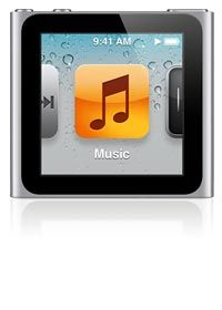 """iPod nano (6th generation) - Apple Support """"good for travelling, jogging and just simply being outdoors, just buy a wrist strap for it and viola you have a watch and music combine in one."""""""