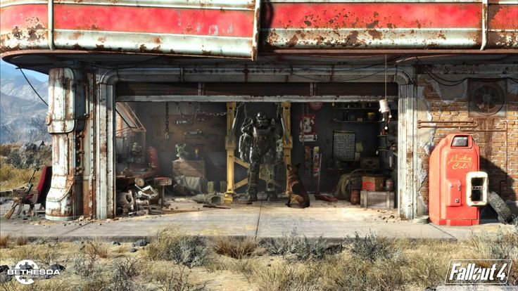 waiting, maybe when we enter the reception?? - Fallout 4 OST - Main Theme