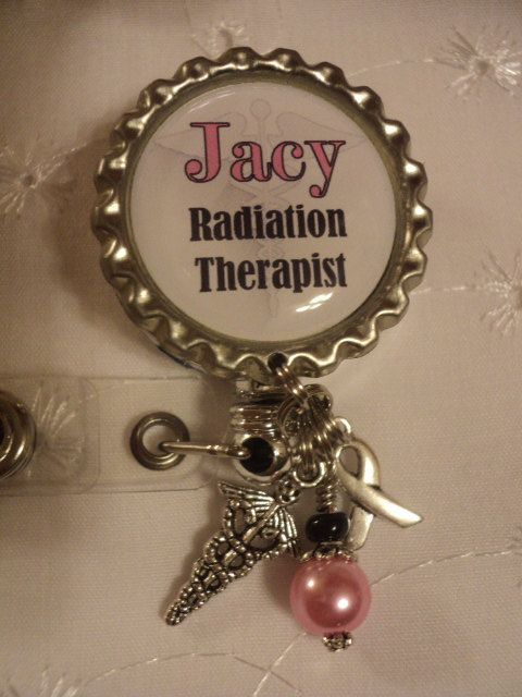Hey, I found this really awesome Etsy listing at https://www.etsy.com/listing/241199428/personalized-radiation-therapist-badge