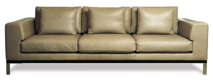 Contemporary Furniture | Designer Furniture: Content / Gilbert / <b>Gilbert</b> 3 seater