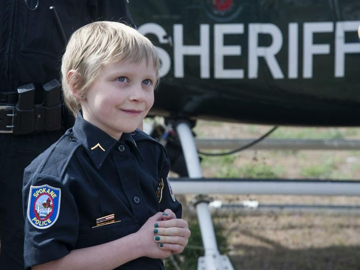 2016-4-27 - Make-A-Wish Foundation grants child's wish to be police officer for a day   The Spokesman-Review