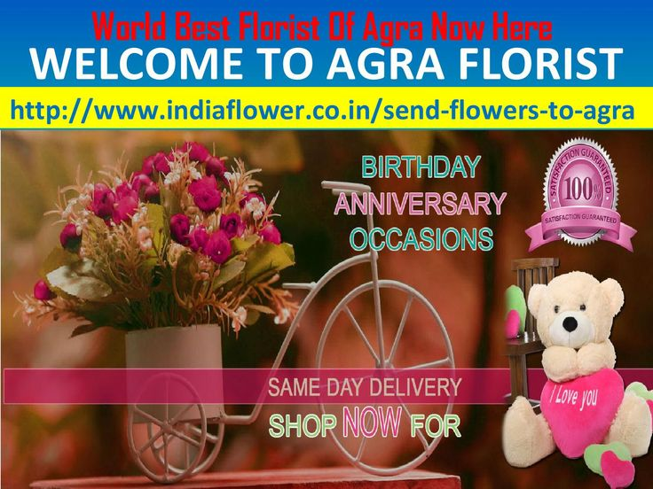 Agra online florist  We are send flowers to agra and all over the world. We are 24x7 hours available for send flowers to agra and all over the india in all events and occassions. We are the best online florist in the world http://www.indiaflower.co.in/send-flowers-to-agra