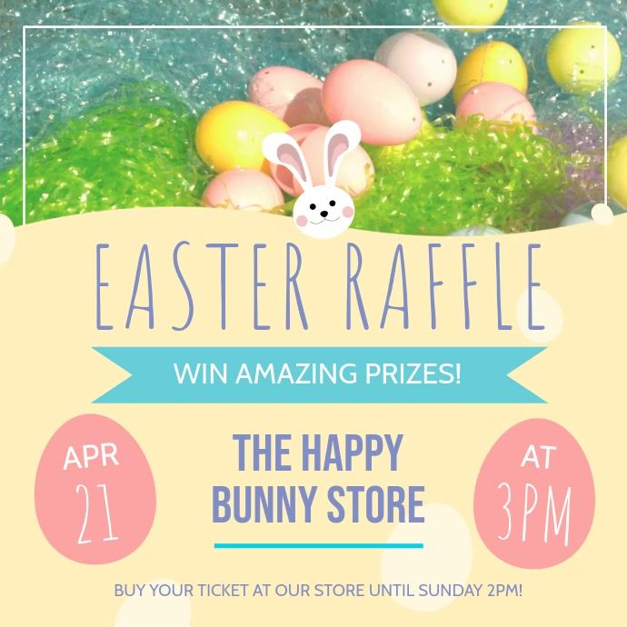Customize This Design With Your Video Photos And Text Easy To Use Online Tools With Thousands Of Sto In 2020 Easter Poster Design Event Poster Template Easter Poster