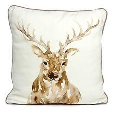 Wilko Stag Cushion