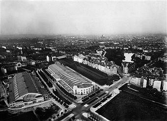 Messegelände Berlin, Ausstellungshallen I und II am Bahnhof Witzleben Berlin 1926
