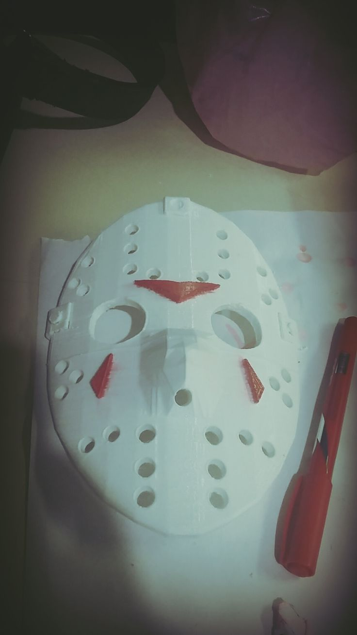 impresion 3d mascara jason