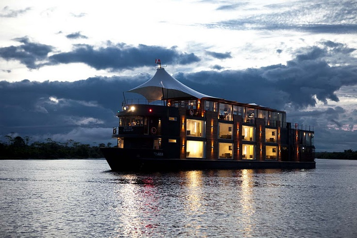Imagine Cruiseing the #AmazonRiver on the truly #luxuryTravel mv aria . www.jdevito.cruiseone.com