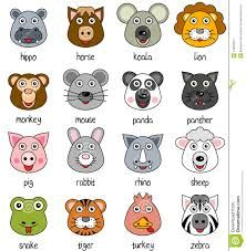 Google Image Result for http://thumbs.dreamstime.com/z/cartoon-animal-faces-set-2-24405924.jpg