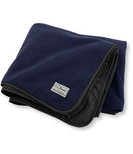Waterproof Outdoor Blanket: Outdoor Blankets | Free Shipping at L.L.Bean  Waterproof blanket! Camping, boating, sitting on the beach, watching a game in the bleachers, sitting in the backyard by the fire, or sunbathing. It's great for just about anything!
