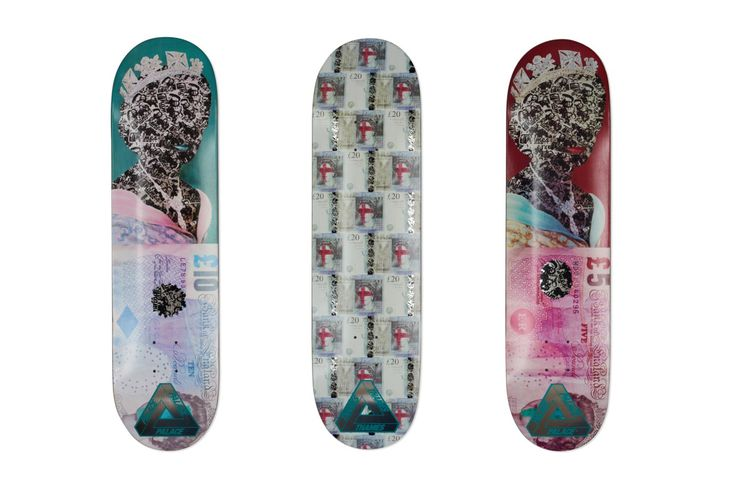 Thames London x Palace Skateboards Co-Branded Skateboards