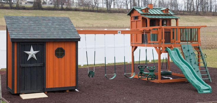 21 Best Swing Set Fort Images On Pinterest Diy Swing