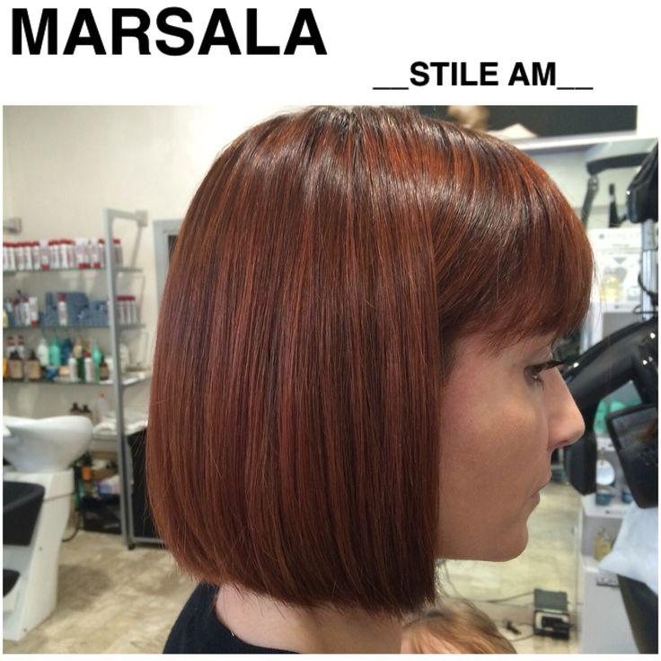 MARSALA HAIR COLOR __STILE AM__parrucchieri