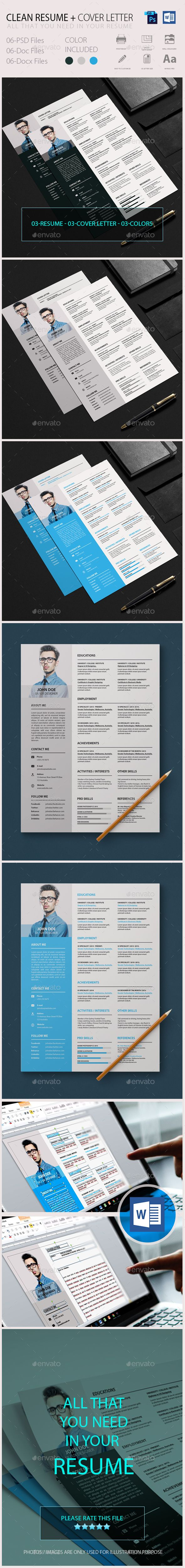 395 best Curriculum vitae images on Pinterest | Resume, Resume ...