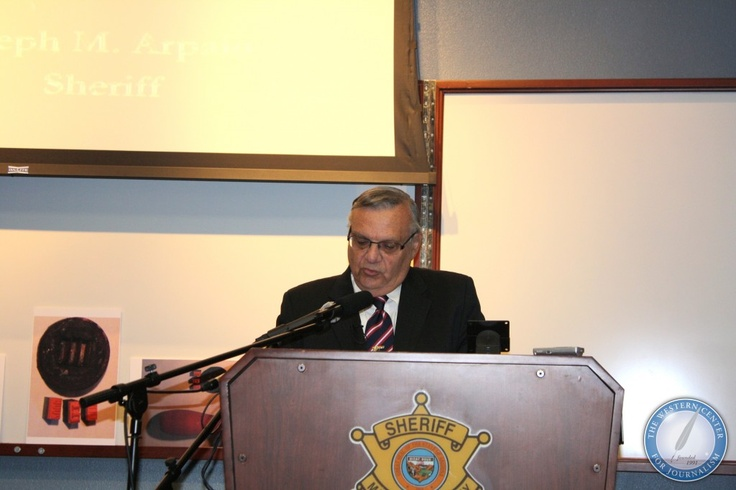 Photos From Sheriff Joe Arpaio's News Conference On Barack Obama Birth Certificate