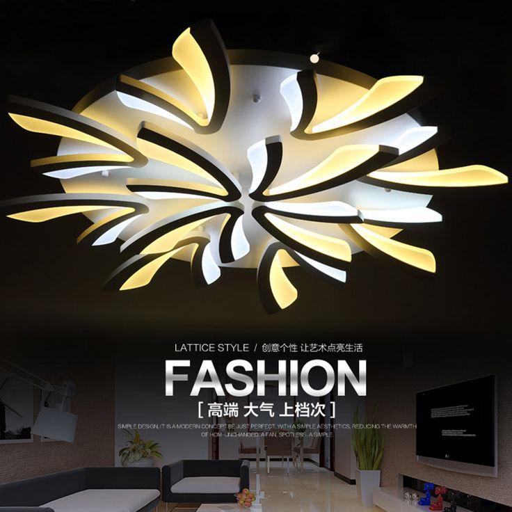 Современная Мода оригинальность привело потолочные светильники для гостиной спальни Дома Декоративные Современный СВЕТОДИОДНЫЙ Потолочный светильник Бесплатная Доставка купить на AliExpress