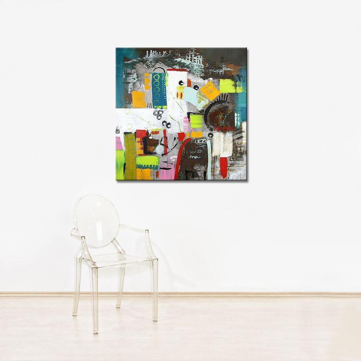 "Abstrakte Bilder auf Leinwand kaufen - ""Nimm 2"" -> Sell Your own art at www.argato.de! #Artwork #kunstwerk #painting #modernekunst #malerei #galerie #artist #eventart #diekunstmacher #abstraktekunst #modernart #modernpainting #painter #abstractpainting #galleryart"