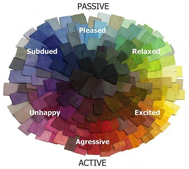 mood color chart for #quilting etc