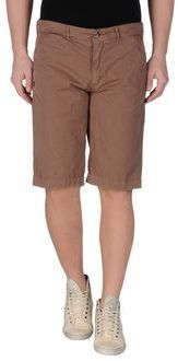 $38, Brown Shorts: 40weft Bermudas. Sold by yoox.com. Click for more info: https://lookastic.com/men/shop_items/211498/redirect