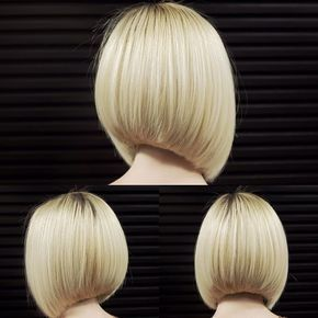 Credit to @gulevich.vladimir Perfect bob….. To have your hair featured please…