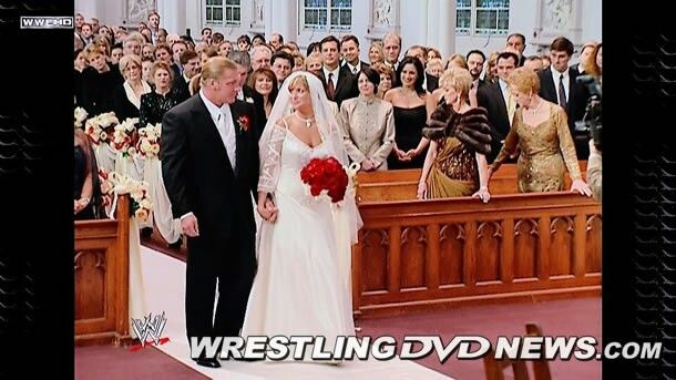 triple h and stephanie mcmahons wedding wwe divas and