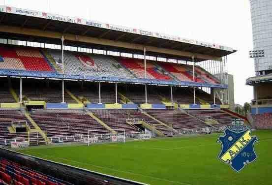 Rasunda Stadium, home of AIK Stockholm.