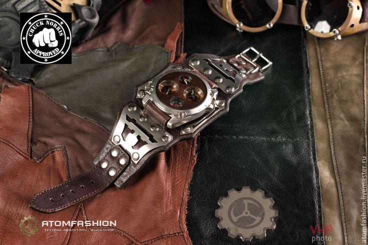 """Купить Часы мужские """"Техно-рейнджер 3.0"""" - часы, часы необычные, авторские часы"""
