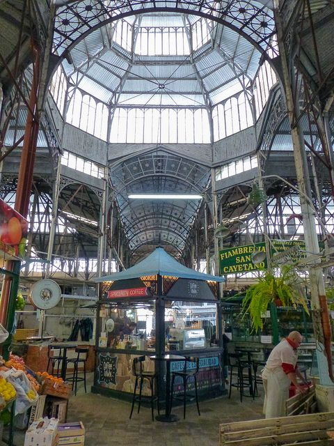 Mercado San Telmo, Buenos Aires, Argentina.  Photo: abaesel, via Flickr