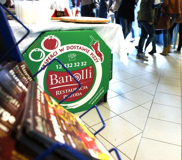 25 marca każdy odwiedzający pawilon Uniwersytetu Ekonomicznego w Krakowie mógł spróbować pysznych produktów Banolli.  #banolli #foodevent