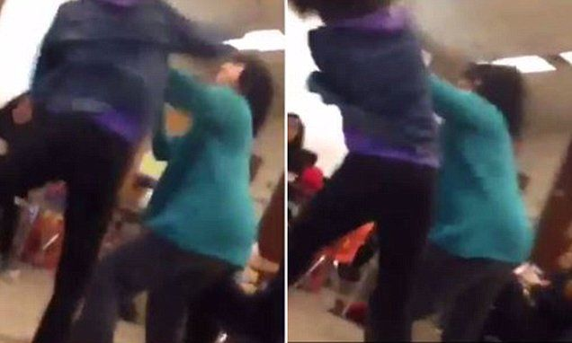 Dallas high school teacher attacked by student,16, during presentation