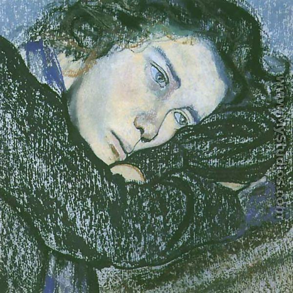 Study of a Woman - Stanislaw Wyspianski