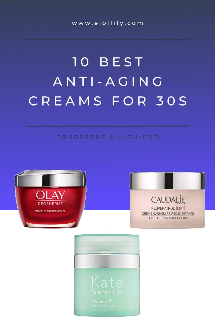 best anti aging cream for 30s