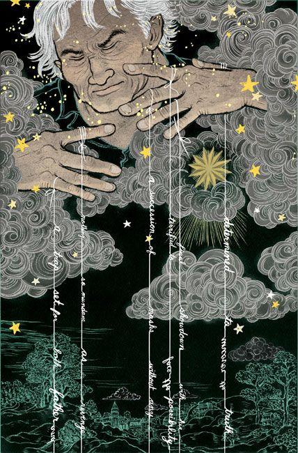 Gratitude 360 - Old Man Winter finally bringing us some rain! - Artwork by Yuko Shimizu