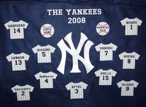 Baseball banner