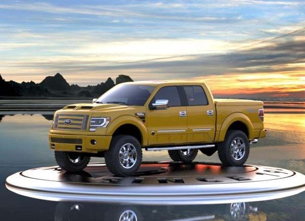 2014 F150 Crew Cab 4x4  2014 Ford F150 Tonka Edition hits the