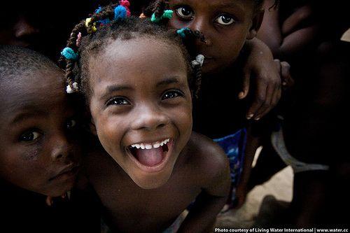 Haitian child smiling | Flickr - Photo Sharing!