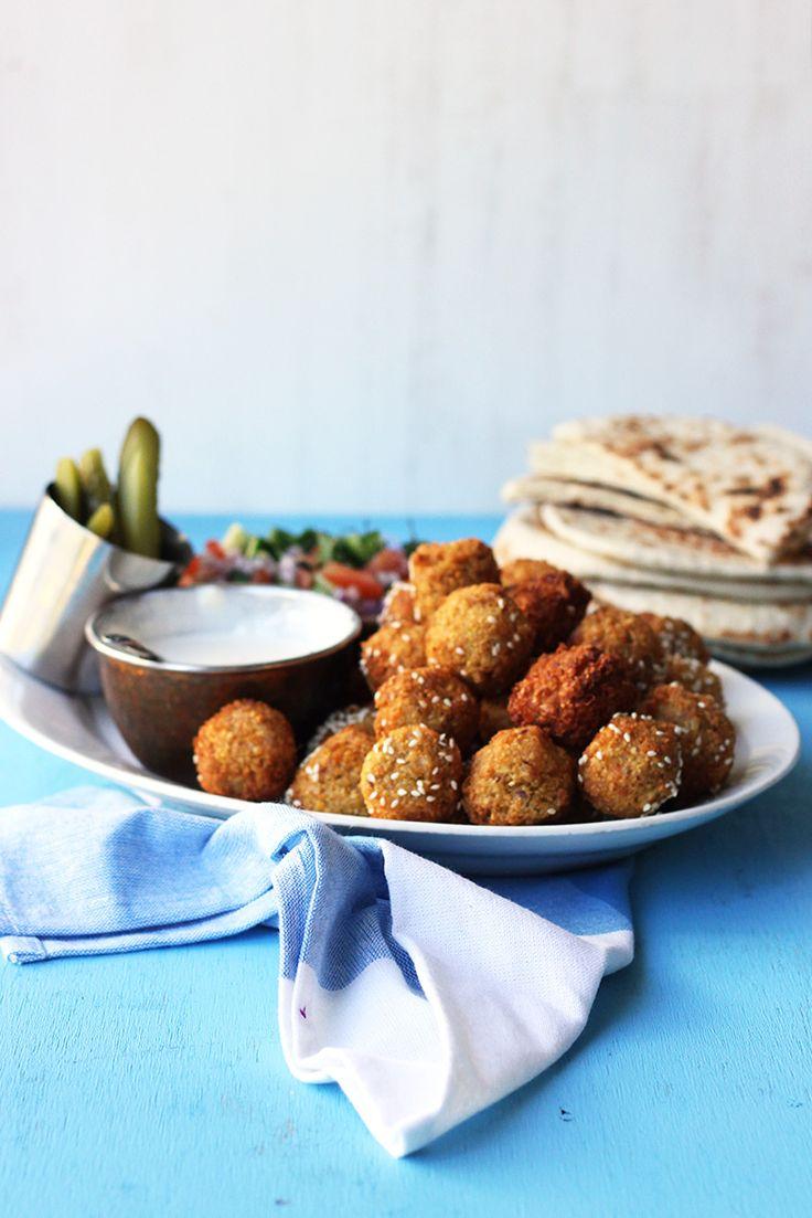 Blue apron falafel - Falafel Pita Street Food Monday