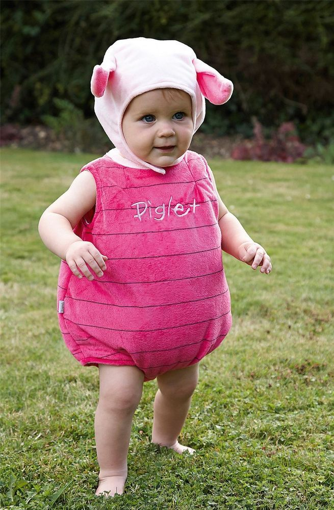 Disney Baby Piglet Tabard 6-12 mths - Toddler Babies Costume Outfit