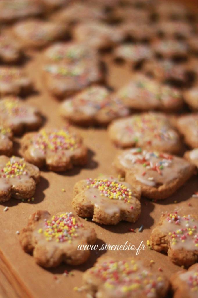 Recettes de mes biscuits de Noël sans gluten et sans lait