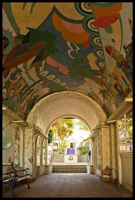 Mural ; Santa Catalina Island