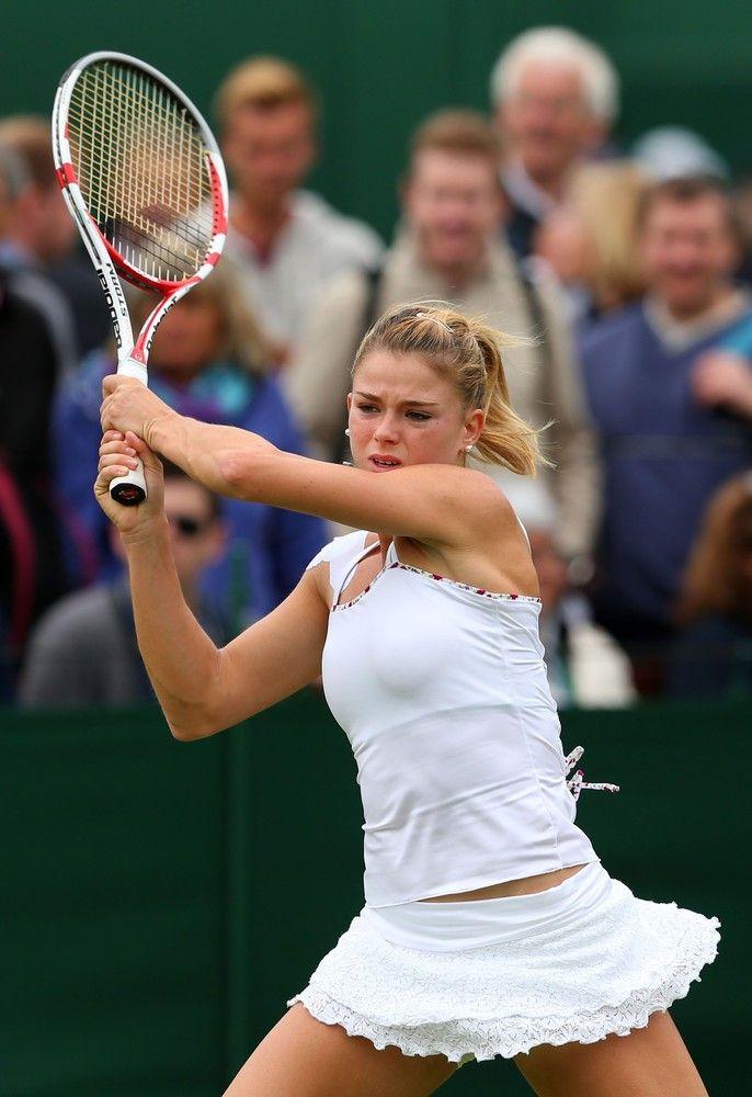 Camila Giorgi @ Wimbledon 2013 #WTA #Wimbledon #Giorgi