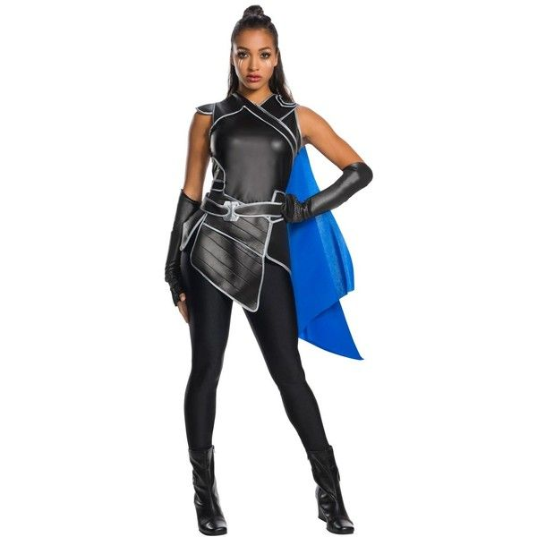 Thor: Ragnarok Valkyrie Adult Costume ($58) ❤ liked on Polyvore featuring costumes, halloween costumes, adult costume and adult halloween costumes