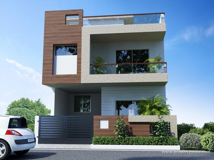 Resultado De Imagen De Elevations Of Independent Houses · House Exterior  DesignHouse ...